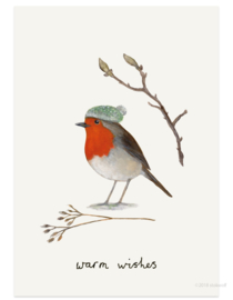 Christmas card | robin