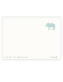 postkaart 'Everzwijn'