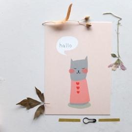 Freecard 'Cat' (2015)