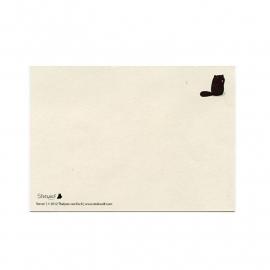 postkaart 'Bever'