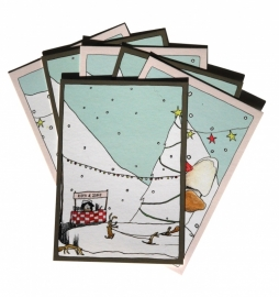 Christmas cards 'Winter in the forest'