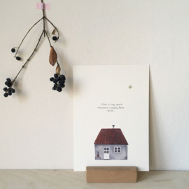 Christmas card | Tiny house
