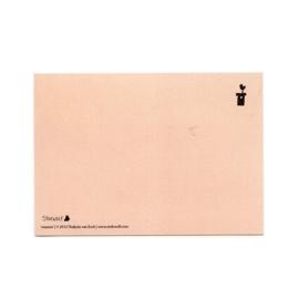 postcard 'Washing'