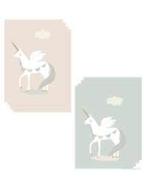 mini cards | unicorn (set)