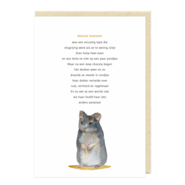 Hennie hamster / i n z i c h t