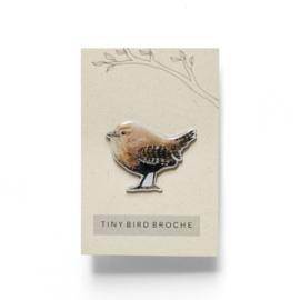 mini broche vogel | Winterkoninkje
