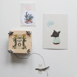 Freecard 'spring' (2015)