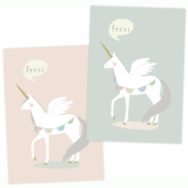 Party invitations | Unicorn