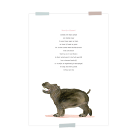 print | Noortje nijlpaard