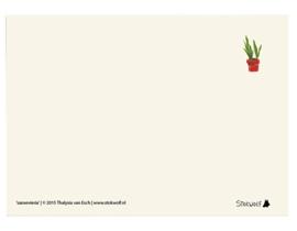 postkaart 'Sanseveria'