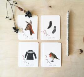 mini cards | Winter (set)