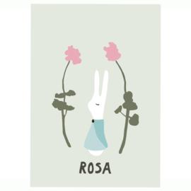 Rabbit girl (grey-green)