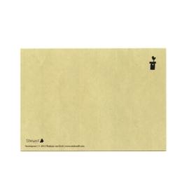 postkaart 'Boompoes'