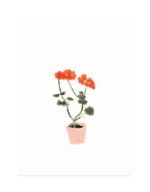 mini kaartje | Geranium