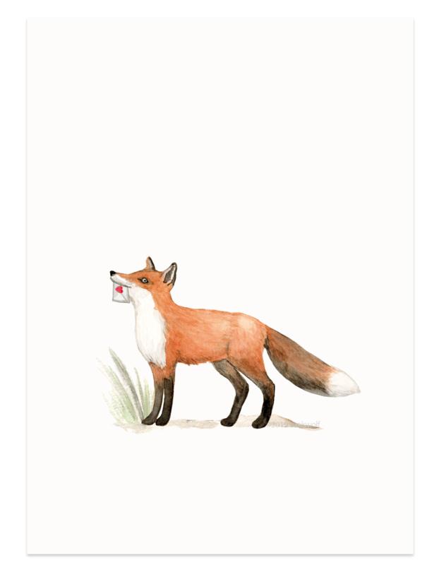 Fox & heart