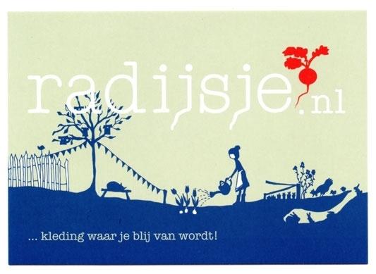 Illustrations house style Radijsje (spring)