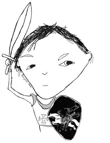 Illustrations focus junior (Verloren schat van de tempelridders)