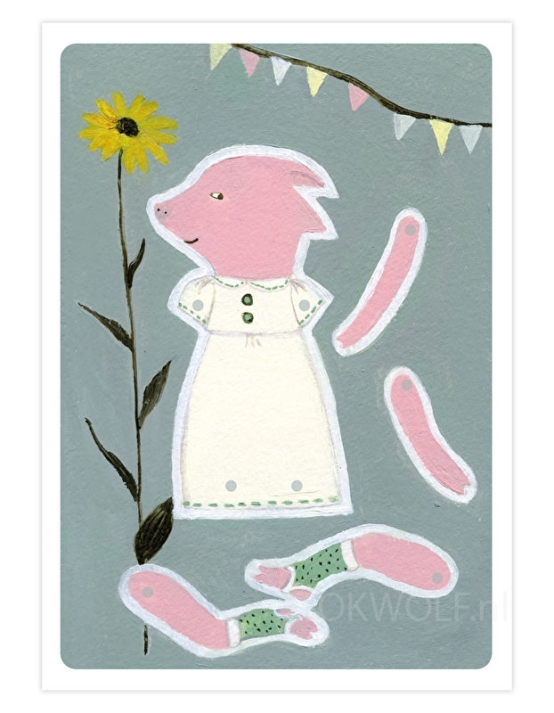 Paper doll 'Pig'