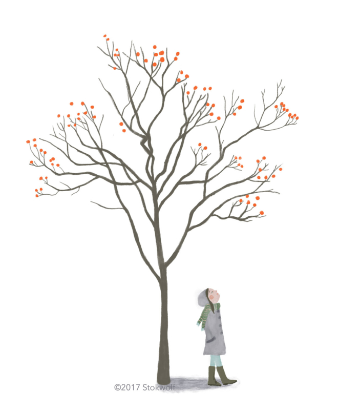 Tree with berries (2017)