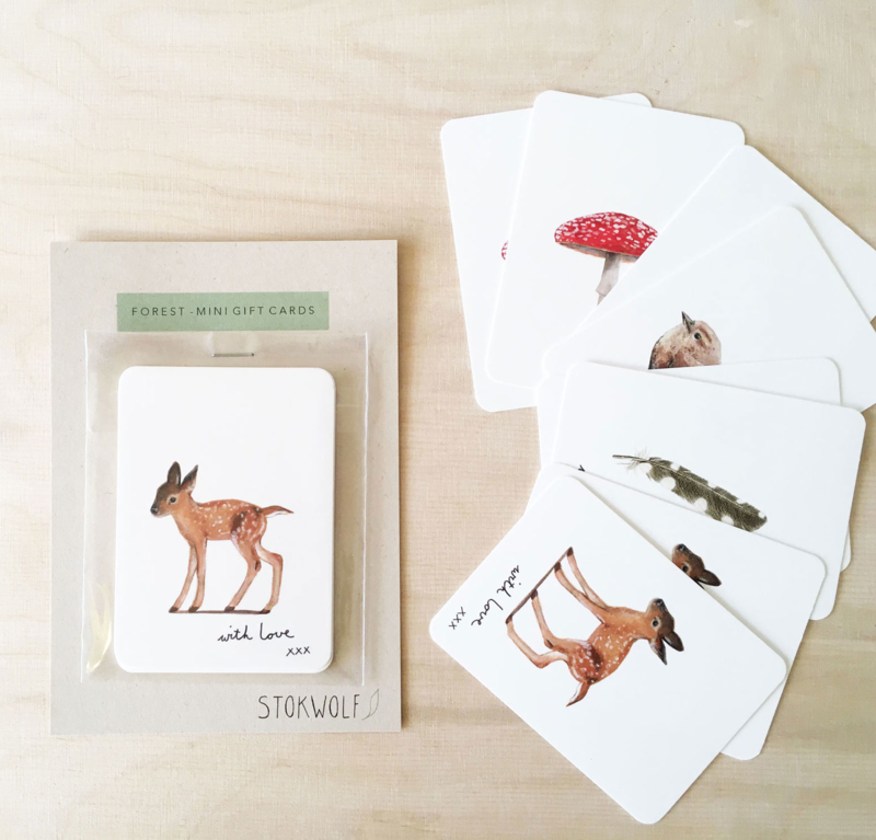 mini cards | Forest (set)