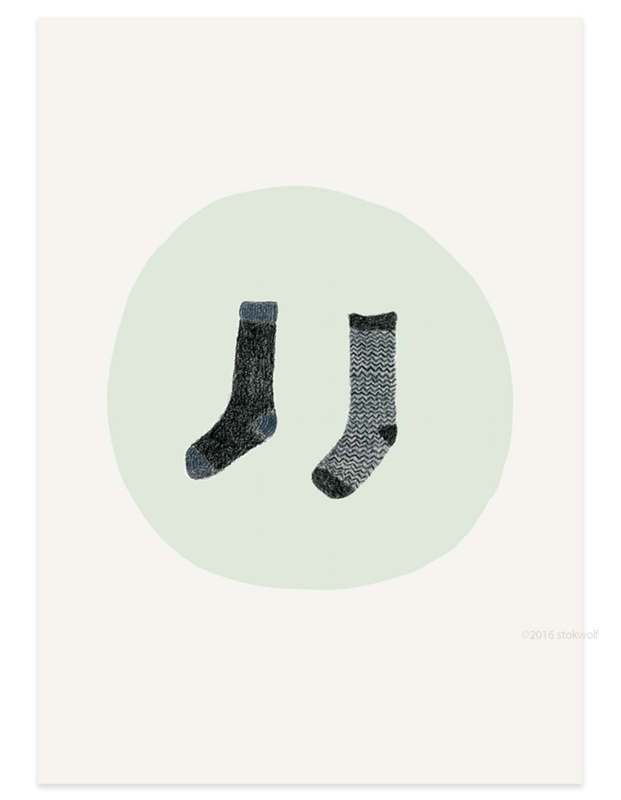 Twee sokken