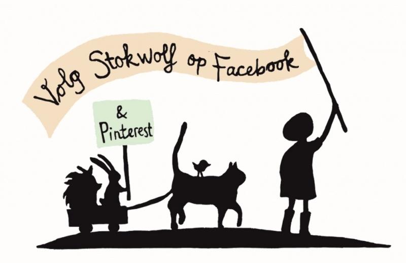 Kaartje 'volg Stokwolf' (2014)