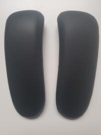 Aeron Remastered - Lederen armpads Zwart