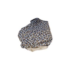 Scarf leopard glitter