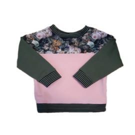 Sweater bloem