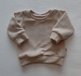 'Spons' Sweater zandkleur