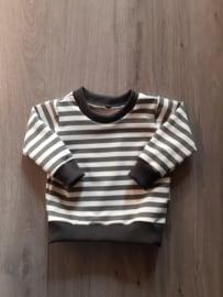 Sweater grey stripe