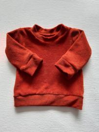 'Spons' Sweater Brique
