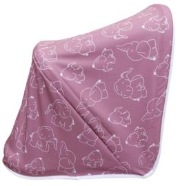 Dubatti zonnekap Elephant Pink