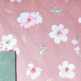 Dubatti zonnekap Flowers Pink