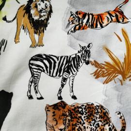 Donkey pads Jungle Off white  (Tricot)