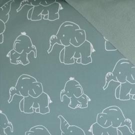 Dubatti pads Elephant Green (softshell)