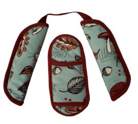 Donkey pads Autumn Green (Softshell)