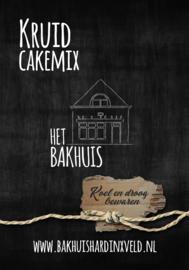 Mix voor heerlijke kruidcake 400 gram