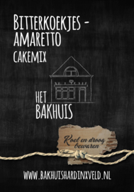 Bitterkoekjes-Amaretto cakemix 400 gram