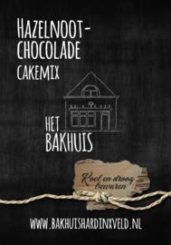 Hazelnoot Chocolade cakemix 400 gram