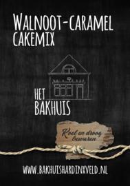 Walnoot-Caramel cakemix 400 gram