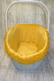 bekleding voor curver carrier mink geel