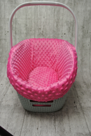 bekleding voor curver carrier mink roze