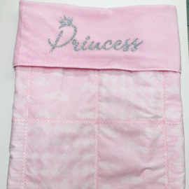 Deken roze patchwork