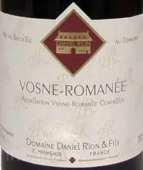 Domaine Daniel Rion Vosne Romanee 2017