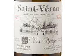 Vin Auvigue Saint Veran 2020