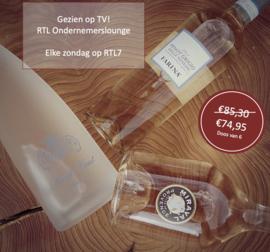 WEXXS Rosé Pakket RTL Ondernemerslounge