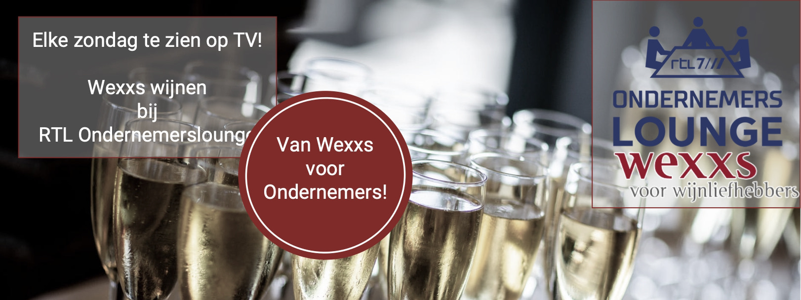 rtl7 ondernemerslounge Wexxs wijnen