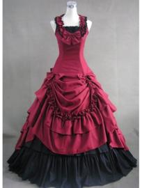 Gothic Lolita Victoriaanse Zwarte Onder Rok Maat  M  K558