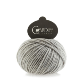 Cardiff Cashmere Large in Gray Melange - Untreated & Sustainable